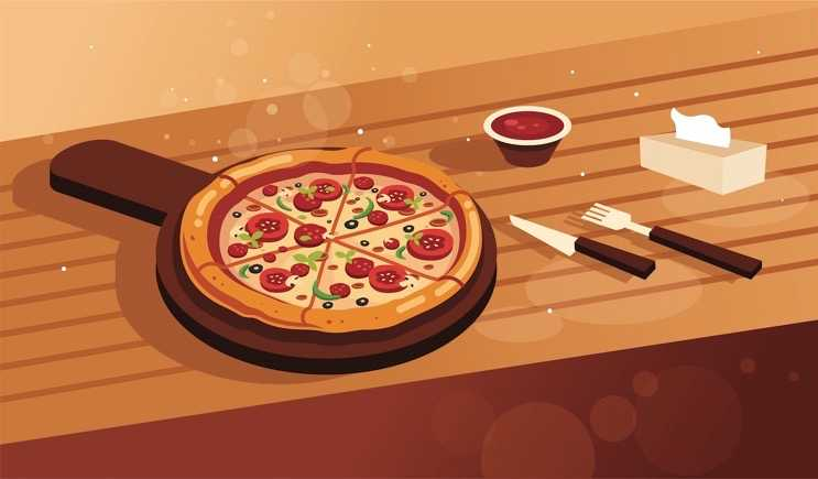 Pizza Menu cover image